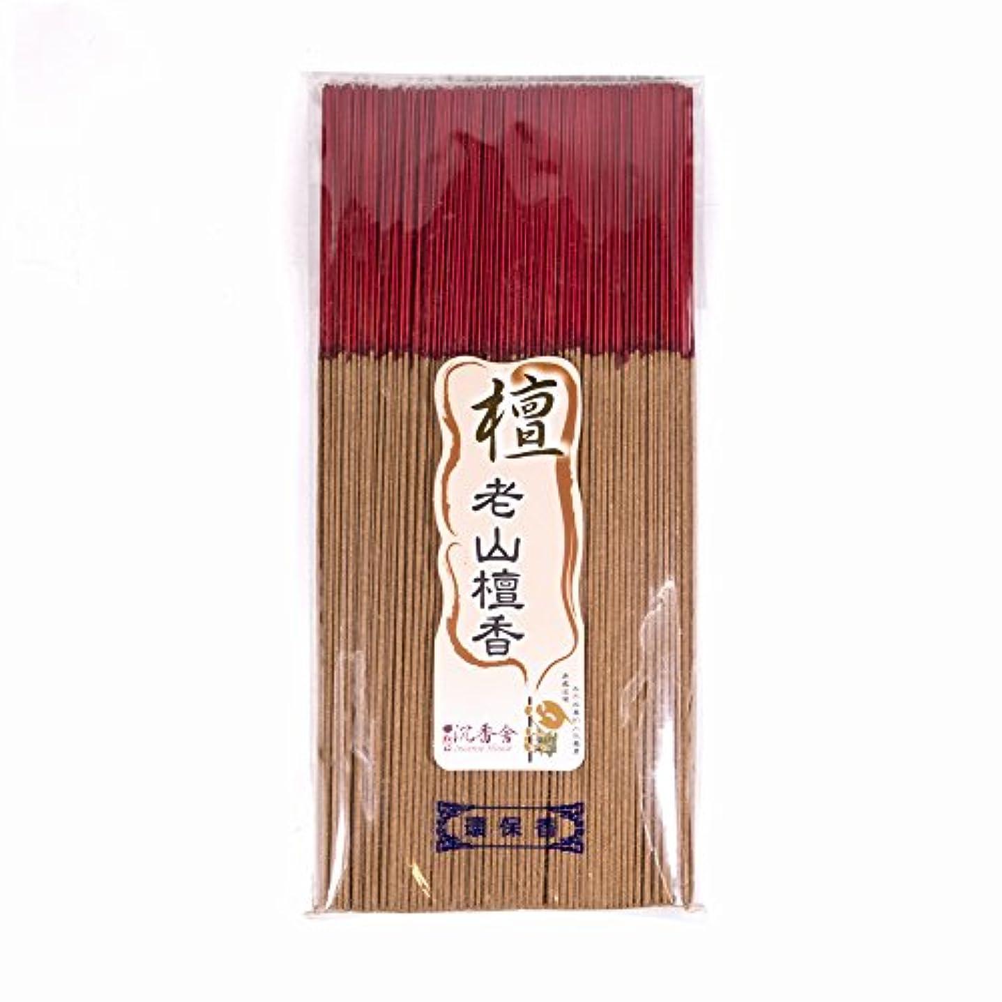 砲兵ドラフト男台湾沉香舍 老山檀香 台湾のお香家 - 檀香 30cm (木支香) 300g 約400本
