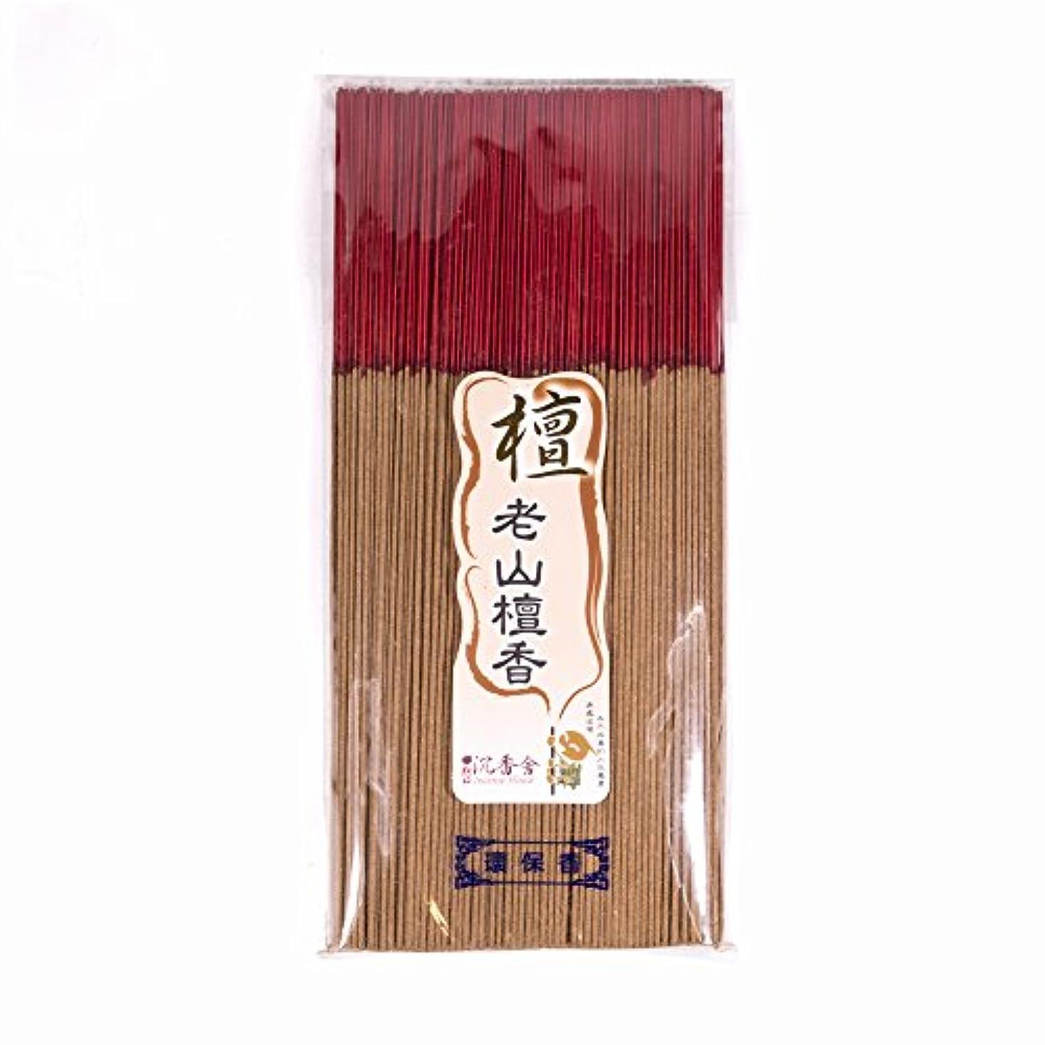 非公式工夫するために台湾沉香舍 老山檀香 台湾のお香家 - 檀香 30cm (木支香) 300g 約400本