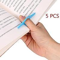 coerniブックマーク、5点Designed親指ブックマークBook Readingサポート