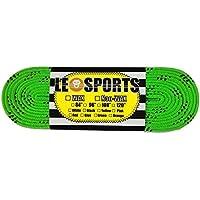 【LEO SPORTS】レオスポーツ アイスホッケー 用 靴紐 ワックス タイプ (グリーン)