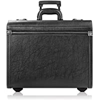 Solo Lincoln Rolling Catalog Case, with Dual Combination Locks