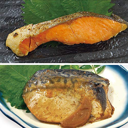 uchipac お魚セット 鮭の塩焼き 鯖の煮つけ 無添加・無菌・常温保存 賞味期限 260日 各3個