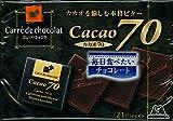 森永製菓 カレ・ド・ショコラ<カカオ70> 21枚×6箱