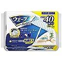 ウェ−ブ フロア用ドライシート抗菌EXファイバー 40枚 各社共通【お掃除道具】
