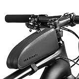 ROCKBROS(ロックブロス)自転車バッグ トップチューブバッグ フロントバッグ サイクリング用 装着便利 小物収納