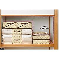 防ダニ素材の布団収納ケース 敷布団用2個組 535007