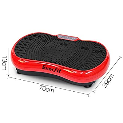 Everfit Vibration Machine Plate -Red