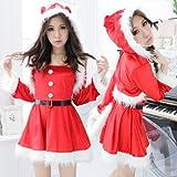 [Sexy Cross] X'mas サンタ衣装 サンタコスチューム クリスマス [xq1001]