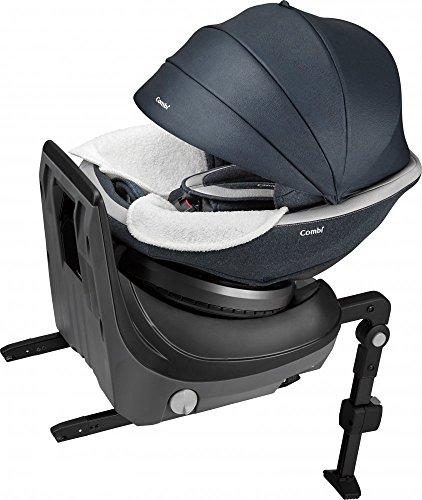 コンビ ホワイトレーベル チャイルドシート クルムーヴ スマート ISOFIX エッグショック JJ-800 ネイビー 新生児~4才頃対象