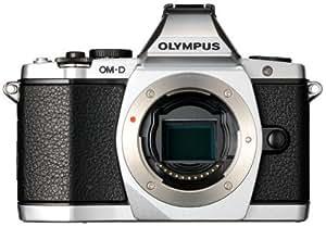 OLYMPUS ミラーレス一眼 OM-D E-M5 ボディ シルバー 1605万画素 防塵 防滴  OM-D E-M5 BODY SLV