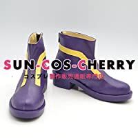 【サイズ選択可】コスプレ靴 ブーツ J-0165 ソードアート・オンライン ユウキ Yuuki 男性26CM