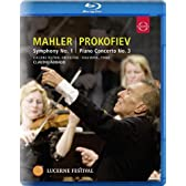 マーラー:交響曲第1番ニ長調「巨人」、プロコフィエフ:ピアノ協奏曲第3番ハ長調 Op.26 (Mahler: Symphony No.1, Prokofiev: Piano Concerto No.3) [輸入盤・日本語解説書付] [Blu-ray]