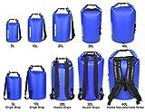 MARCHWAY ドライバッグ 防水 リュック ロールトップ ドラム型 5L/10L/20L/30L/40L アウトドア カヤック ラフティング ボート 水泳 温泉 キャンプ ハイキング ビーチ お釣り 画像