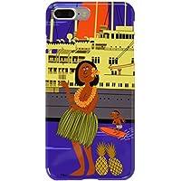 WE LOVE LOCOHAMA フラガール 船旅でハワイへ行こう! シェル 3D iPhone7 Plus対応 WLL-017MOL-IP7PD