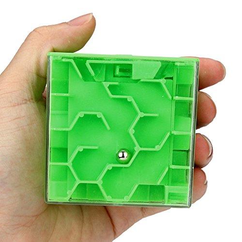 3dキューブ迷路パズル–の解決のデポジットのパズルを取得するお金迷路銀行–Xander Challenge Game ( A ,グリーン)