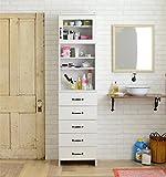 ランドリーボックス 収納家具 ホワイトカラー ランドリーチェスト (幅45cm)