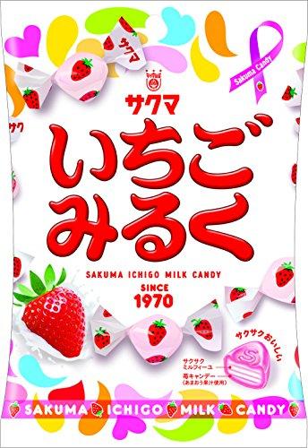 サクマ製菓 いちごみるく 100g