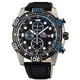 Orient watch国際モデル日本製クロノグラフstt16004b Kuo–Tsuメンズ
