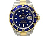 [ロレックス] ROLEX サブマリーナ デイト メンズ 腕時計 ブルー K18YG(750)イエローゴールド×ステンレススチール(SS) 16613 [中古]