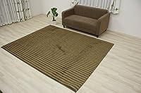 抗アレルゲン 抗ウィルス 手洗いできる ラグマット ptgst-190240(K) ブラウン 約190×240cm 抗菌 防ダニ 絨毯 消臭カーペット 北欧デザイン 肌触りソフト 茶色 brown rug mat