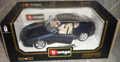 BURAGO 1/18 3036 FERRARI 456GT 1992 METALLIC BLUE by burago [並行輸入品]