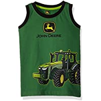 John Deere Boys Muscle T-Shirt Short Sleeve T-Shirt