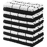 Utopia Towels 12 Pack Kitchen Towels, 15 x 25 Inches Cotton Dish Towels, Tea Towels and Bar Towels