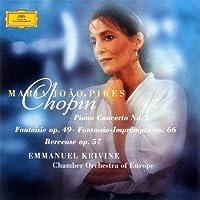 ショパン:ピアノ協奏曲第1番、幻想即興曲