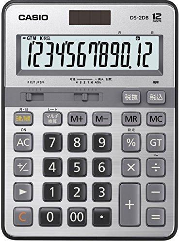 カシオ 本格実務電卓 日数&時間・税計算 デスクタイプ...
