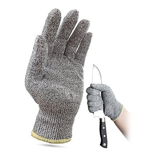 [해외]耐切 창 장갑 작업 장갑 칼날 장갑 꺼지지 장갑 고강도 폴리에틸렌 섬유 컷 레벨 5 상처 방지 S M L/Cutting gloves Working gloves Protective blades Gloves Unbreakable gloves High strength polyethylene fibers Cut level 5 Cutting preventio...