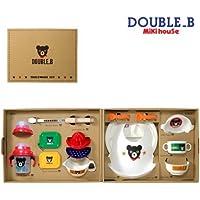 mikihouse Double_B(ミキハウスダブルB)日本製テーブルウェアセット(食器セット)