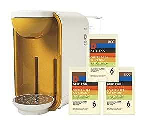 UCC コーヒーメーカー ドリップポッド (DRIP-POD) アソートボックス(本体+カートリッジ)