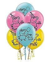 "Peppa Pig 12"" Latex Balloons ~ Birthday Decoration Party Favor Supplies [並行輸入品]"