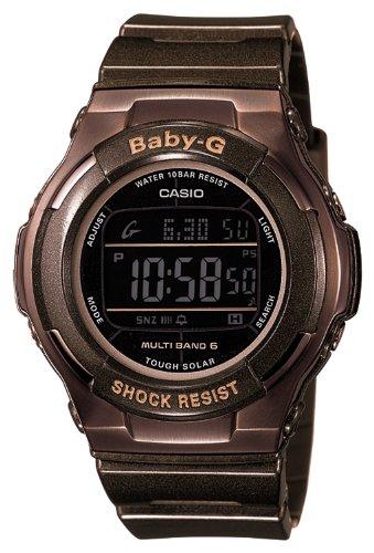 日本で人気の女性用カシオ [casio] casio watch baby-g babysie radio wave solar bgd-1310-5jf women's