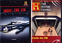 The History Channel : Inside the FBI Inside the CIA : Federal Law Enforcement 2 Pack : 400 Minutes : 3 DVD SET [並行輸入品]