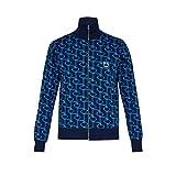 Prada (プラダ) メンズ アウター ジャージ Zip-through jacquard track jacket Navy サイズ48EU-IT(残り1個) [並行輸入品]