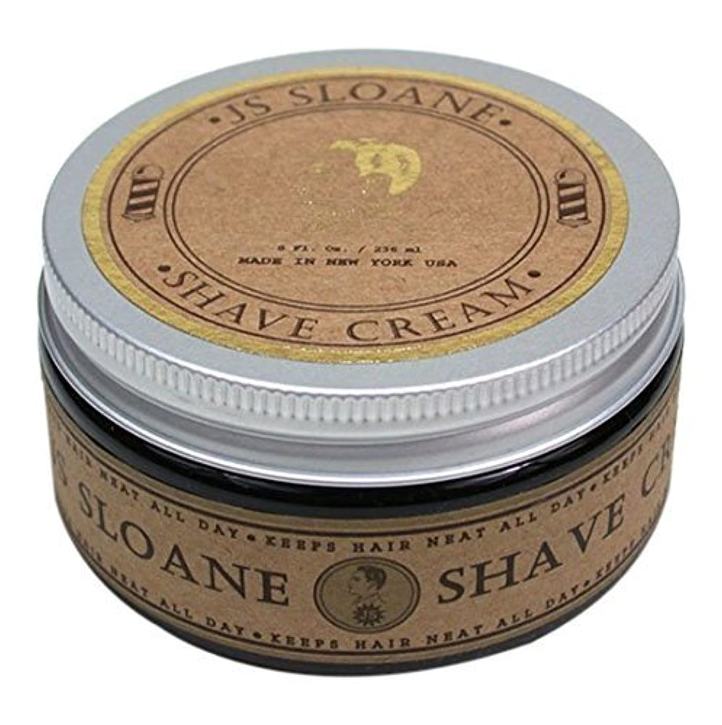 有望衝突コースホストJS Sloane ジェントルマンズ シェーブクリーム / Gentlemen's Shave Cream , 8oz (236mL)