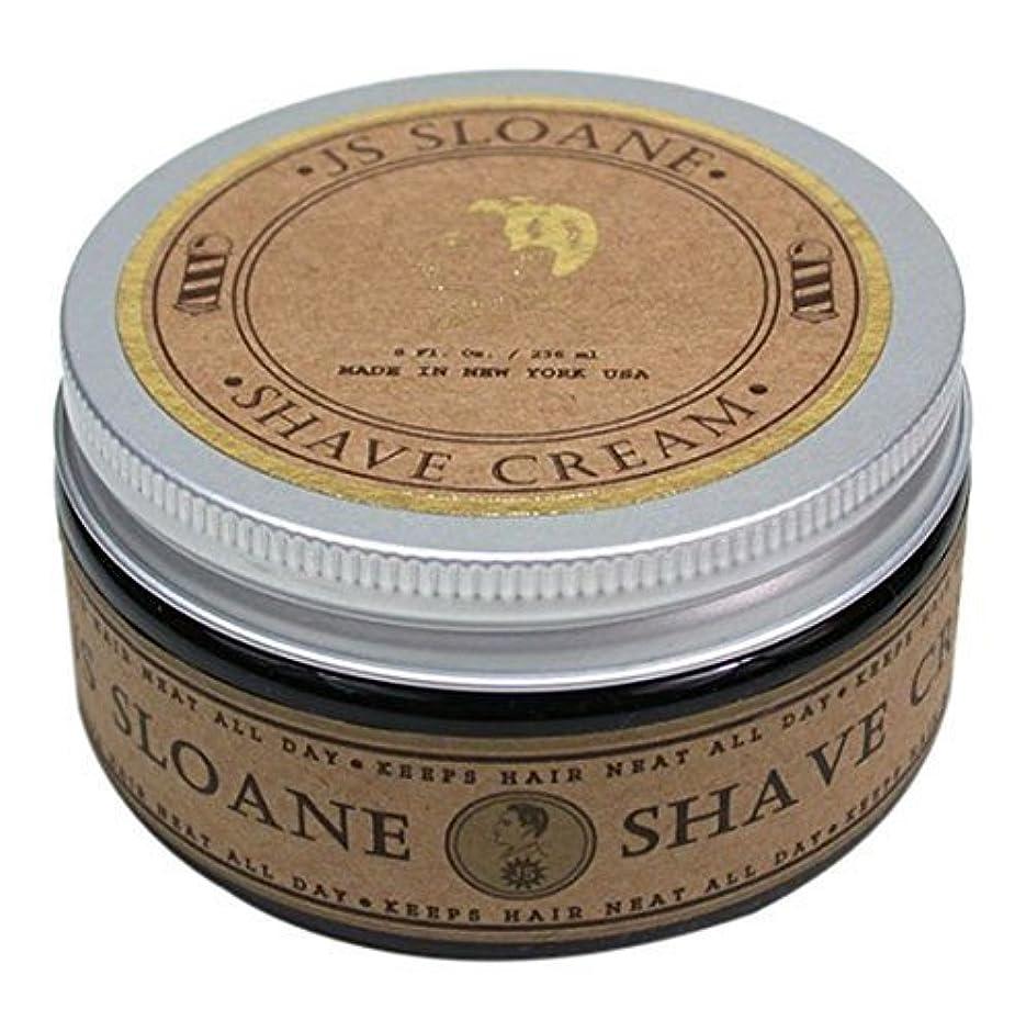 ビデオ誓い系統的JS Sloane ジェントルマンズ シェーブクリーム / Gentlemen's Shave Cream , 8oz (236mL)