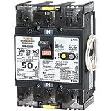 テンパール工業 単3中性線欠相保護付漏電遮断器 OC付 50A 30mA リード線付 U5301KC5030V