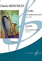 ケックラン : 15の練習曲 作品188 (サクソフォン、ピアノ) ビヨドー出版