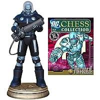 Batman Mr. Freeze Black Pawn Chess Piece with Magazine by Eaglemoss Publications [並行輸入品]