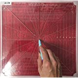 "Westalee Design 8 Point Crosshair Ruler (12.5"" x 12.5"")"
