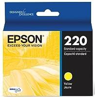 Epson DURABrite Ultra Standard-Capacity Ink Cartridge, Yellow (T220420) [並行輸入品]