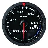 日本精機 Defi (デフィ) メーター【Defi-Link ADVANCE CR】油圧計 60φ (ブラック) DF08902