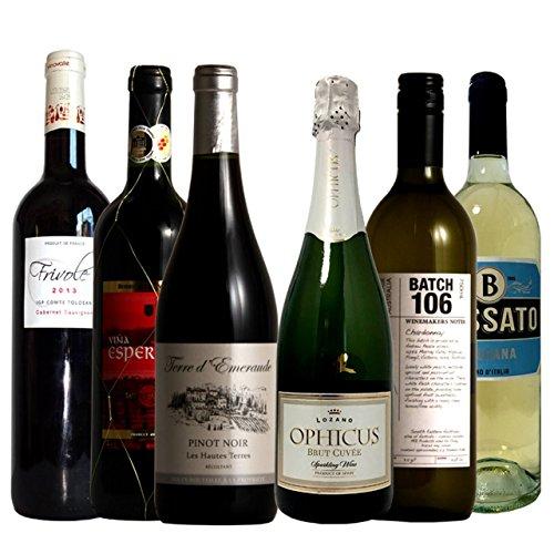 ワイン名産国周遊 フランス・スペイン・イタリア飲み比べ ワイ...