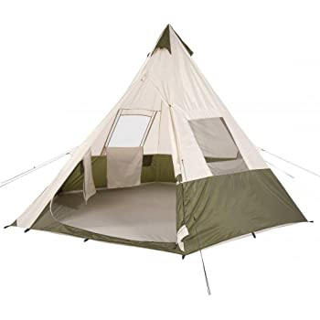 Amazon Ozark Trail 7 Person Teepee Tent 3 Season 11 8 X