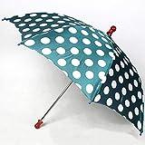 ラウンドドットアンブレラ / Round dot umbrella green / マジックトリック/魔法; 奇術; 魔力