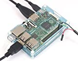 Raspberry Pi2用 Pibow Coupe ケースセット (Blue)