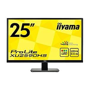iiyama ディスプレイ モニター XU2590HS-B1 25インチ/フルHD/スリムベゼル/HDMI端子付