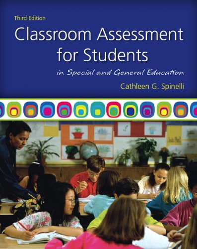 Download Classroom Assessment for Students in Special and General Education 0137050135